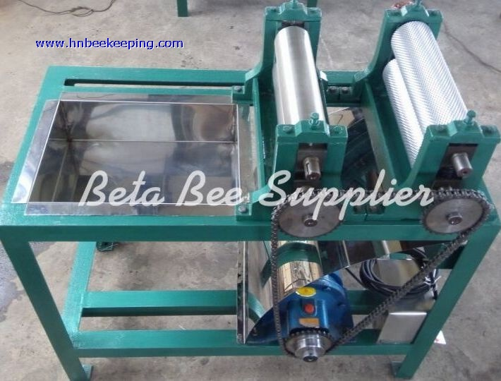 New electric beeswax embossing machine