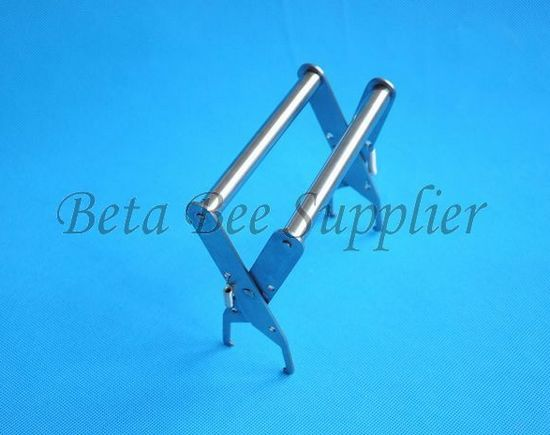Stainless steel frame grip