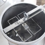 2 frames honey extractor