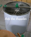 6 frames manual honey extractor
