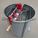 Manual honey extractors