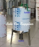 4 frames honey extractor with motor and handle