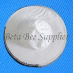 Cotton fabric bee protective hat